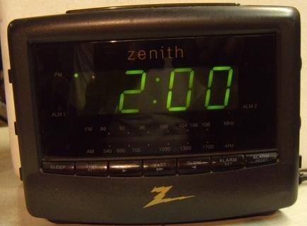 ZENITH CLOCK RADIO MODEL Z7000 | eBay |Zenith Clock Radio