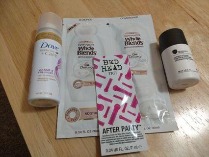 Hair Care Samples