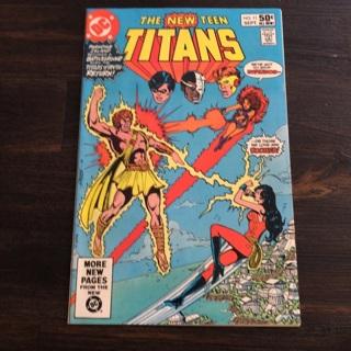 The New Teen Titans  Comic Book DC Fine Vintage 1981