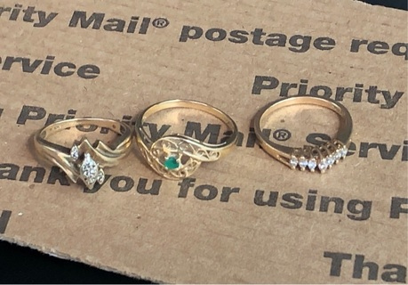 10k GOLD/DIAMOND RING,2 14k WOMENS RINGS (SPECIAL AUCTION❗️)
