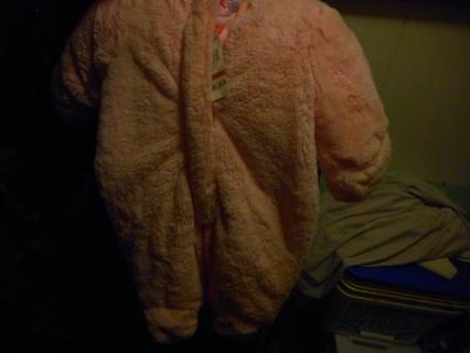 NWT~ Newborn to 3 Month Fluffy Snowsuit