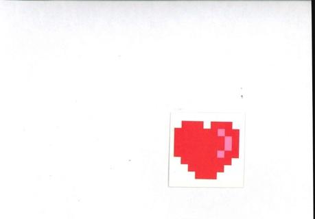 Pixal Heart Tattoo