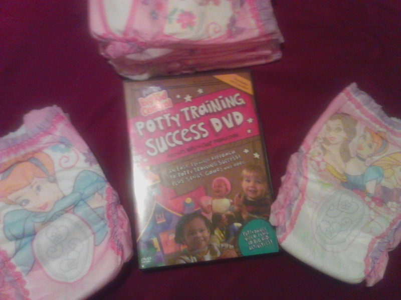 Free Quot Potty Time Quot W Disney Princess Pull Up S Amp Potty