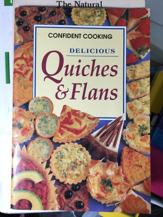 Quiche and Flan Cookbook (German Food)