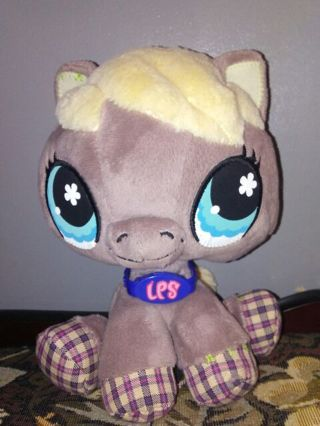 Littlest Pet Shop Horse Plush