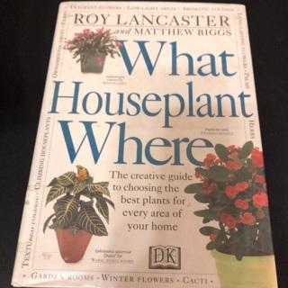 What Houseplant Where Book