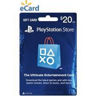 (PlayStation)  $20 Playstation Gift Card  Very Low GIN