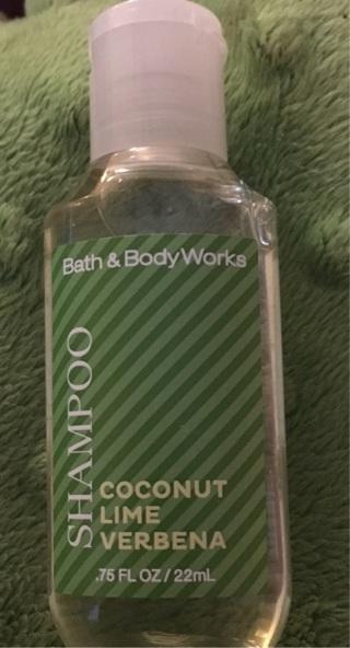 Bath and body works shampoo