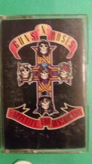cassette guns n roses appetite for destruction free shipping