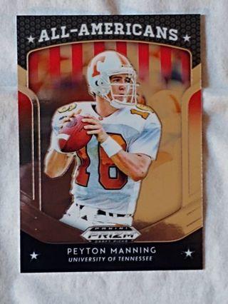 University Of Tennessee - Peyton Manning Chromium Card