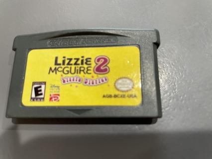 Vintage Nintendo Gameboy Lizzie McGuire 2 Game