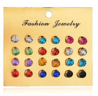 New Style Symbol Stud Earrings Set for Women Gift E951