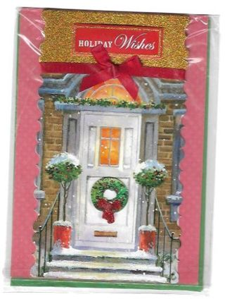 Christmas Card Unused With Envelope Nice CARD