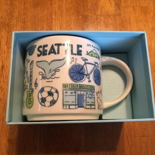 Starbucks Coffee Mug - Seattle, WA - Been There Series Across The Globe ***NEW