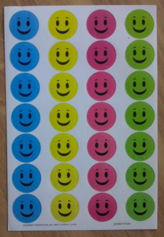 Smiley Stickers - New : )