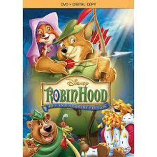 Disney Robin Hood digital copy