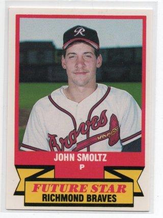 1989 CMC John Smoltz Minor League Rookie HOF