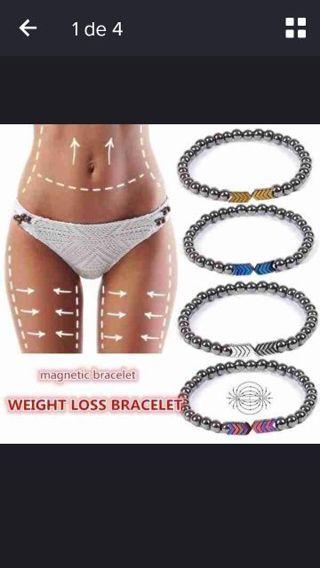 Twisted magnet health slimming Bracelet