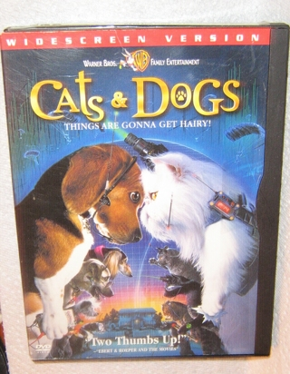free cats dogs dvd warner bros family entertainment. Black Bedroom Furniture Sets. Home Design Ideas