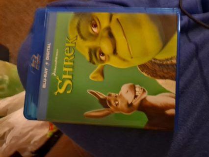 Shrek digital copy hd