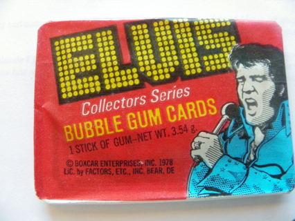 Make Offer: UNOPENED 1978 PACKS OF ELVIS PRESLEY CARDS