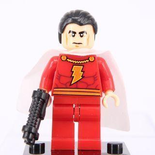 New Shazam Super Heroes Minifigure Building Toys Custom Lego