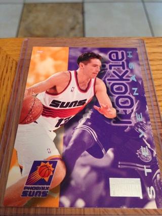 brand new dd43a 0981c Free: Steve Nash Rookie Card Skybox Premium Phoenix Suns ...