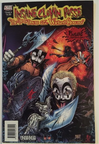 free insane clown posse comic book 1 comics listia com