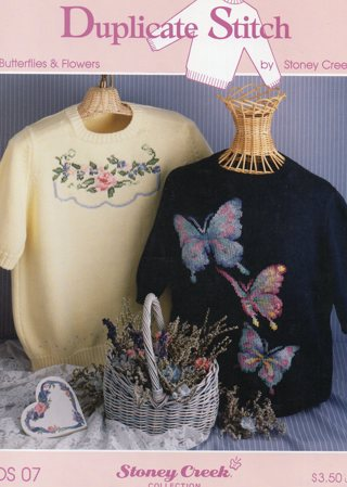 Cross Stitch Leaflet: Butterflies and Flowers