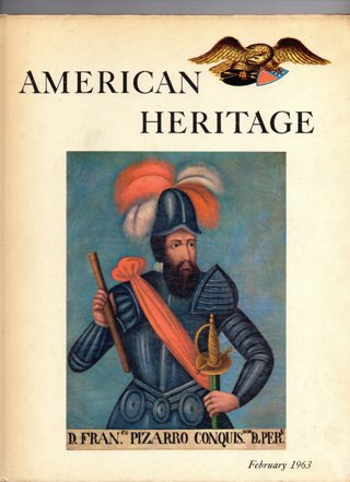 Vintage American Heritage Hard Covered Book: February 1963