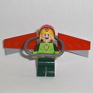 New Kite Man Minifigure Building Toy Custom Lego