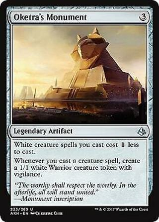 MTG Magic - Oketra's Monument - Amonkhet - Uncommon