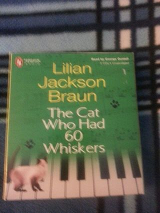 Audio book The cat Who