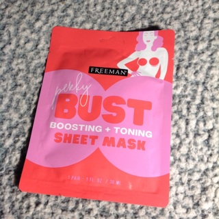 Freeman perky bust Brest boosting and toning sheet mask