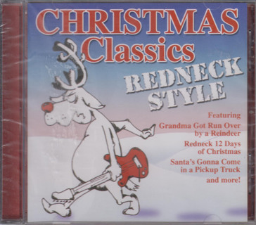 nip christmas classics redneck style format audio cd - 12 Redneck Days Of Christmas