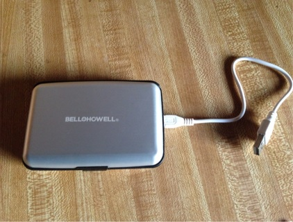Bell and Howell E-Charge Wallet - As Seen On TV