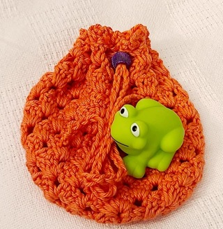 Crochet Pull String Gift Bag,**LQQK***