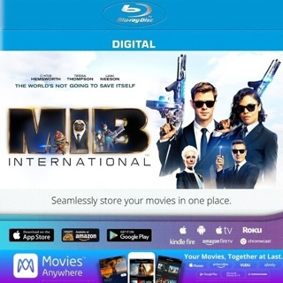 MEN IN BLACK INTERNATIONAL HD MOVIES ANYWHERE CODE ONLY