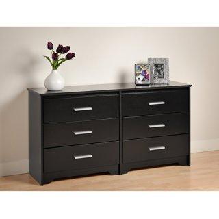 Black Coal Harbor 6 Drawer Dresser