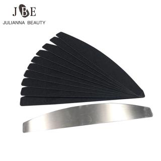 1 Pc Metal Nail File With 1Set(20Pcs) Replacement Pads Nail Professional File Removable Pads Polis