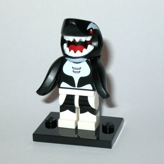 [GIN FOR FREE SHIPPING] New Orca Shark Minifigure Building Toy Custom Lego