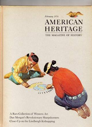 Vintage American Heritage Hard Covered Book: February 1976