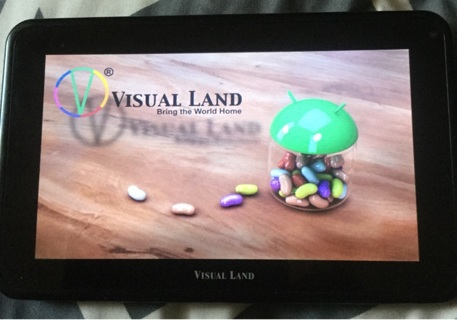 "LQQK! >>> Visual Land 7"" Tablet..Used"