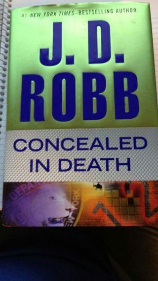 J. D. Robb - Concealed in Death Hardback