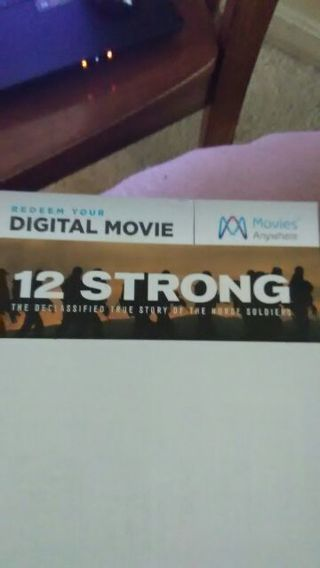 12 Strong Code