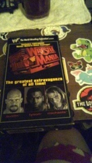 wwf wrestlemania 1998 used vhs
