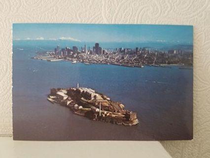 ALCATRAZ ISLAND, SAN FRANCISCO postcard California,USA
