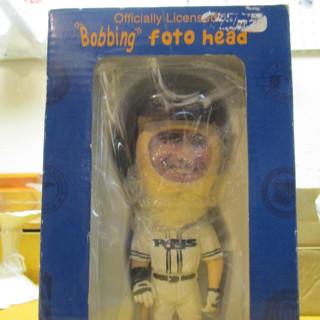 Bobble head photo frame-Rays baseball theme