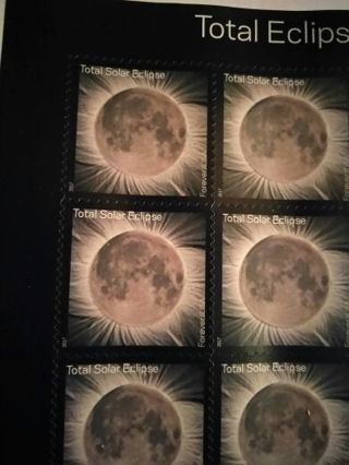 Total Eclipse Stamp! Never used! Plus free gift!