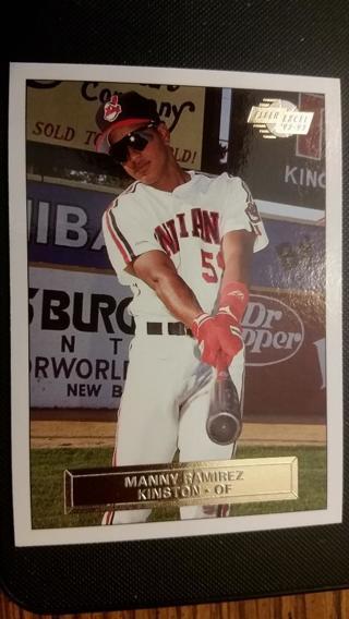 MANNY RAMIREZ 1992 Fleer Excel Minor League card #164 Cleveland Indians NR MT